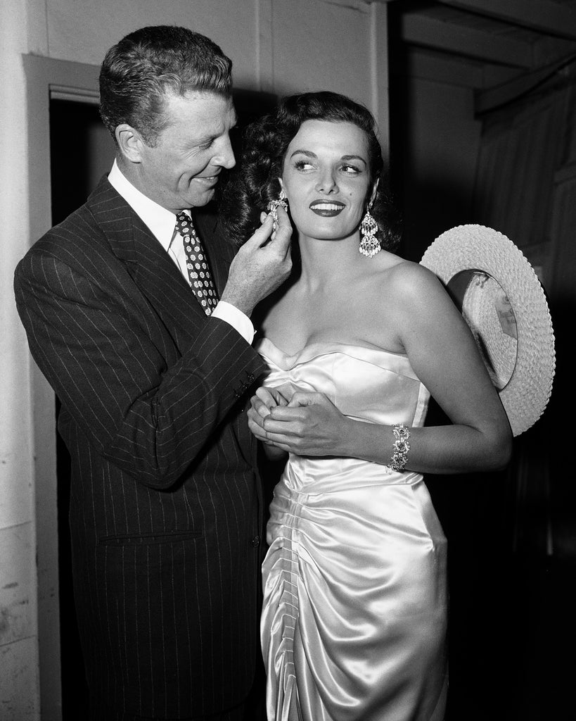 "Frank Worth Collection ""Dan Daily And Jane Russell 1953""  w/coa - Global Images Gallery"