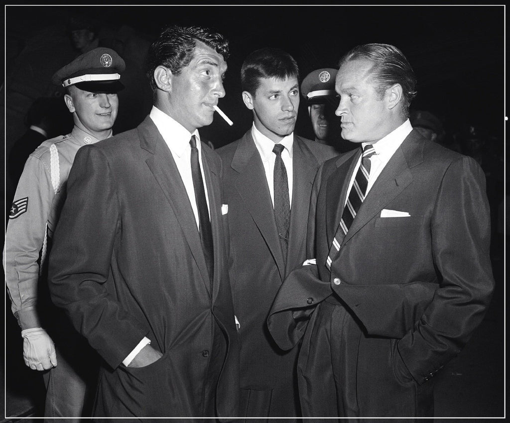 Dean Martin, Jerry Lewis and Bob Hope