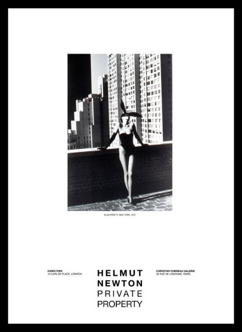 """Elsa Peretti, New York 1975"" 24x36 Gallery Poster by Helmut Newton - Global Images Gallery"