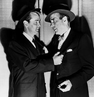 "Frank Worth Collection ""Alan Ladd And Humphrey Boghart"" w/coa - Global Images Gallery"