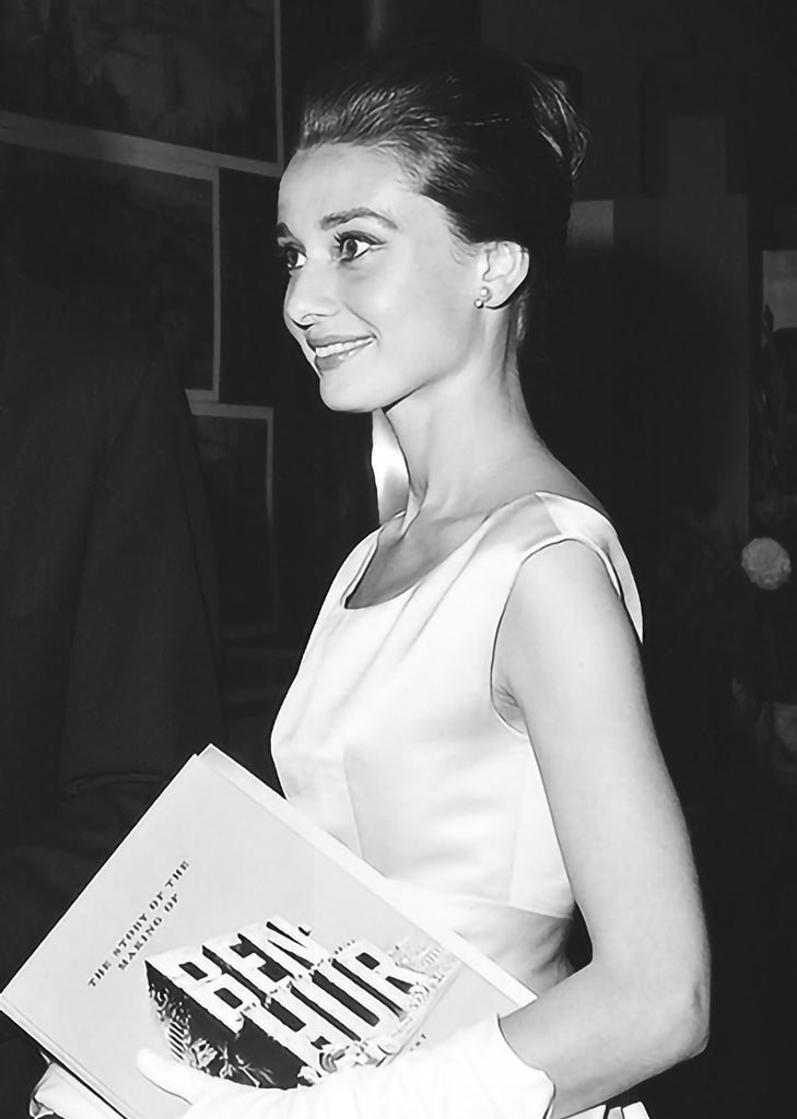 "Frank Worth Collection ""Audrey Hepburn At Ben-Hur Premiere"" w/coa - Global Images Gallery"