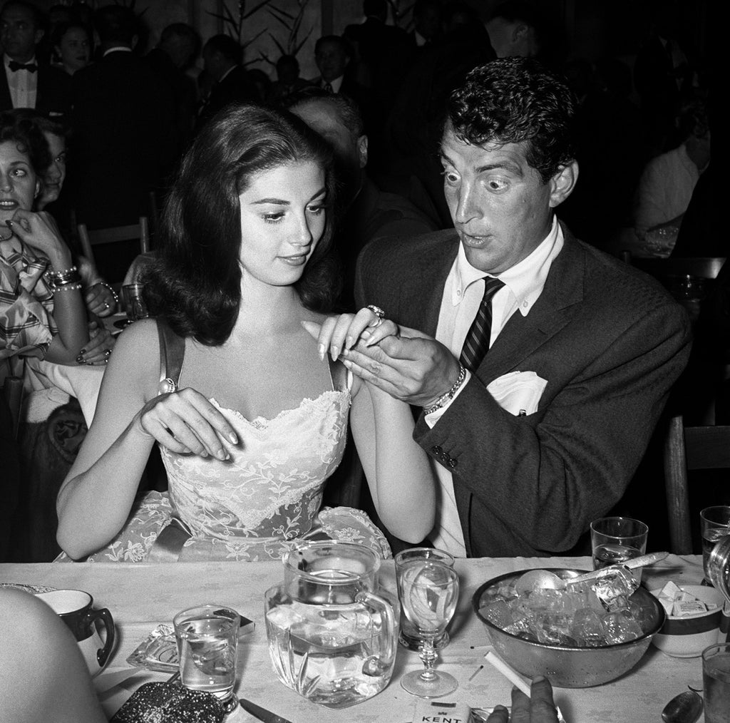 "Frank Worth Collection ""Dean Martin Looks At Pier Angeli's Ring"" w/coa - Global Images Gallery"