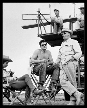 "Frank Worth Collection ""Elizabeth Taylor And Rock Hudson, GIANT"" w/coa - Global Images Gallery"