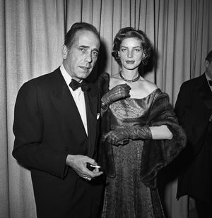 "Frank Worth Collection ""Humphrey Bogart And Lauren Bacall, Oscars 1952"" w/coa - Global Images Gallery"