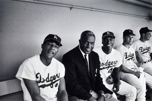 "Frank Worth Collection ""Jackie Robinson, Dodgers Game"" w/coa - Global Images Gallery"