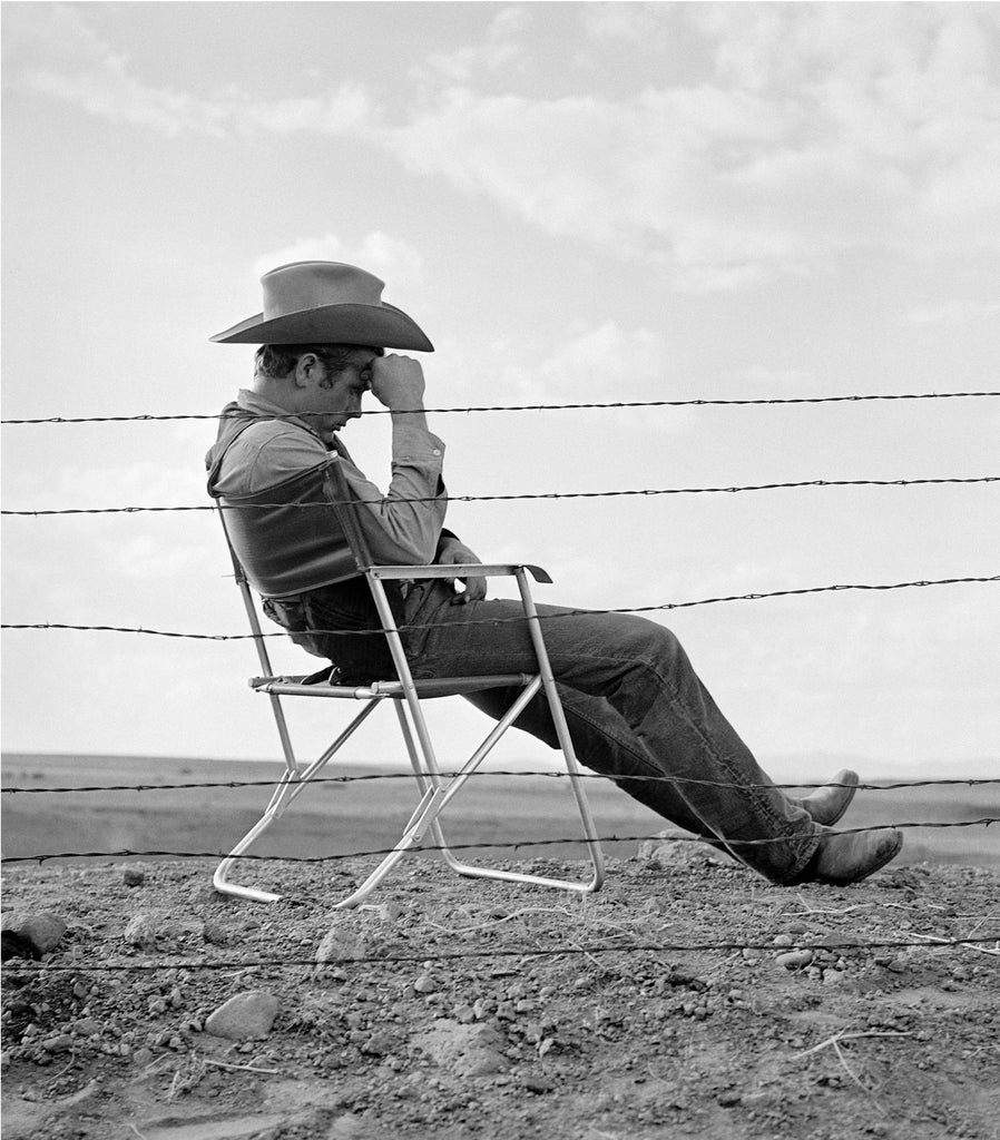 "Frank Worth Collection ""James Dean Resting 1955"" w/coa - Global Images Gallery"