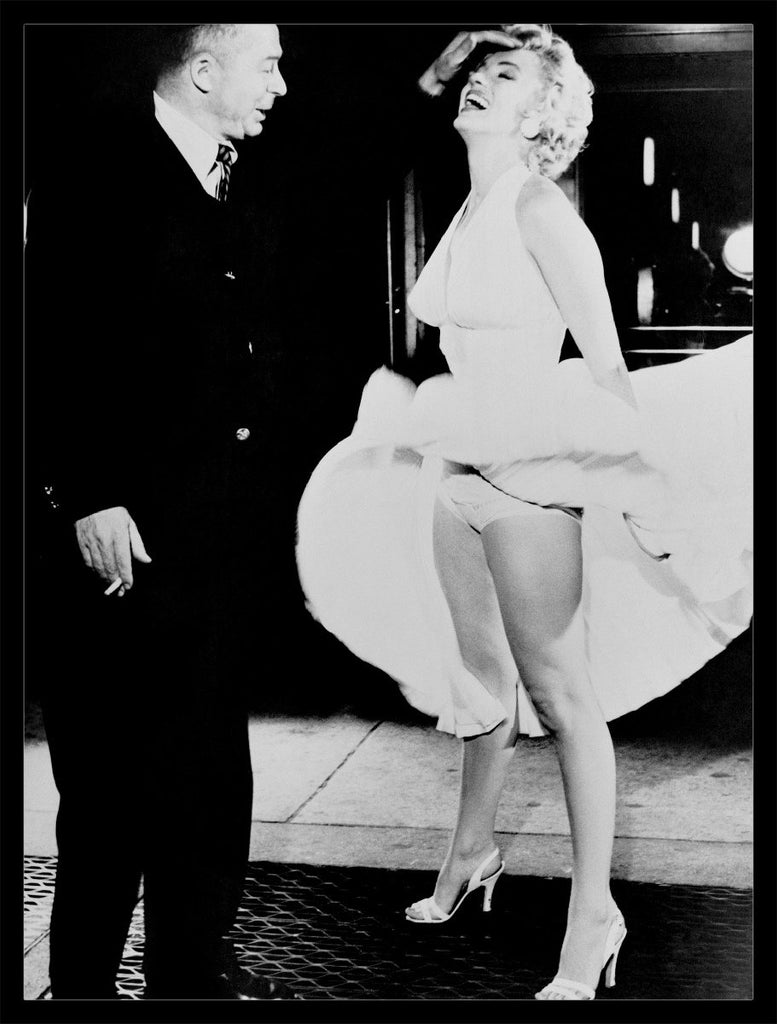 "Frank Worth Collection ""Marilyn Monroe and Billy Wilder, The Seven Year Itch"" Under $50 - Global Images Gallery"