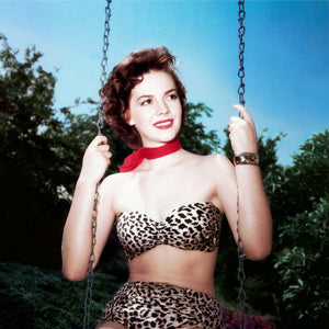 "Frank Worth Collection ""Natalie Wood In Swing, Color"" w/coa - Global Images Gallery"