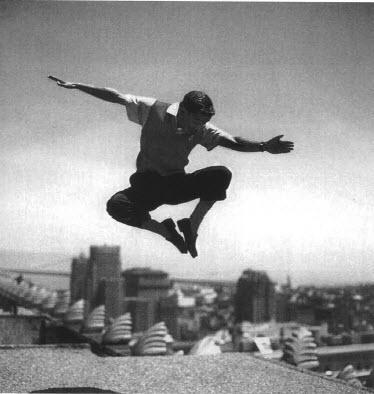 "Frank Worth Collection ""Sammy Davis Jr. Jumping BW"" w/coa - Global Images Gallery"