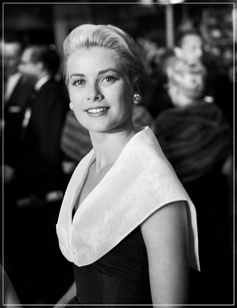 Grace Kelly Classic Portrait by Frank Worth Photography