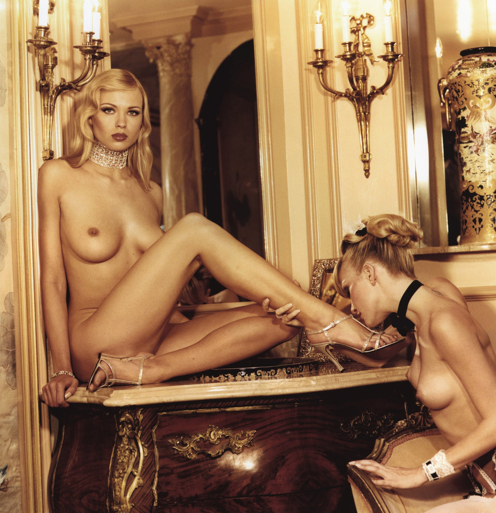 """Hotel Deluxe I"" featuring Irina Voronina by Guido Agentini-Global Images"