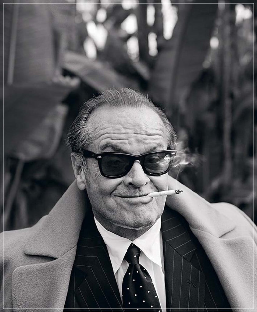 """Jack Nicholson"" by Lorenzo Agius Photography-Fine Art Print-Global Images-24x30-Global Images"