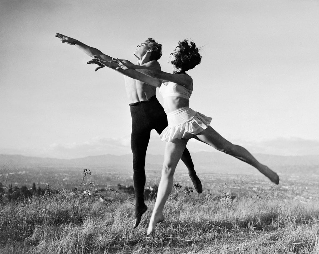 "Frank Worth Collection ""James Dean And Elizabeth Taylor Ballet"" w/coa - Global Images Gallery"