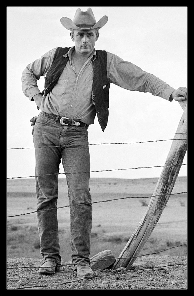"""James Dean, Cowboy"" by Frank Worth Under $50-Fine Art Print-Global Images Gallery-12x18-Global Images"