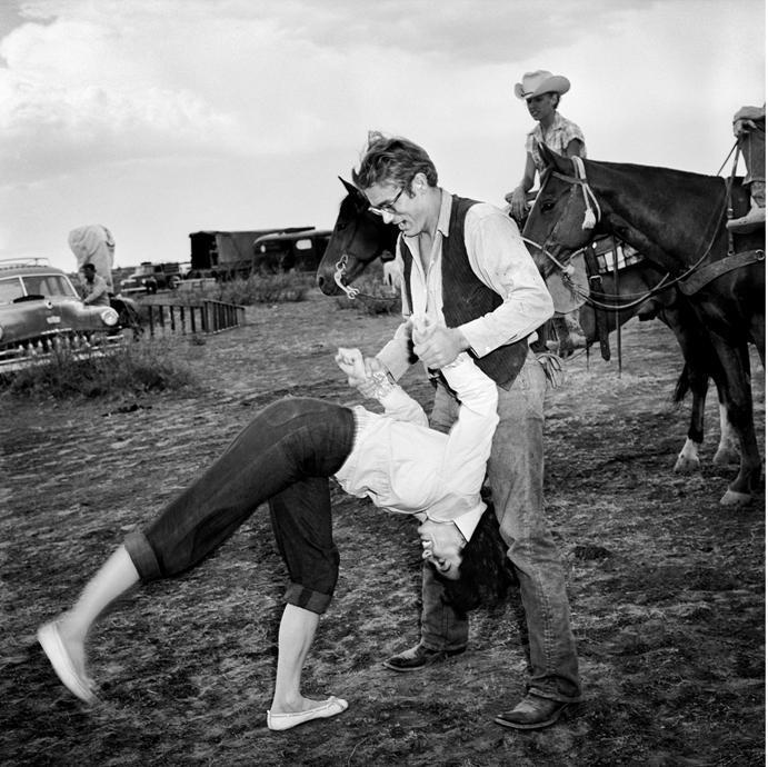 "Frank Worth Collection ""James Dean Flipping Elizabeth Taylor"" w/coa - Global Images Gallery"