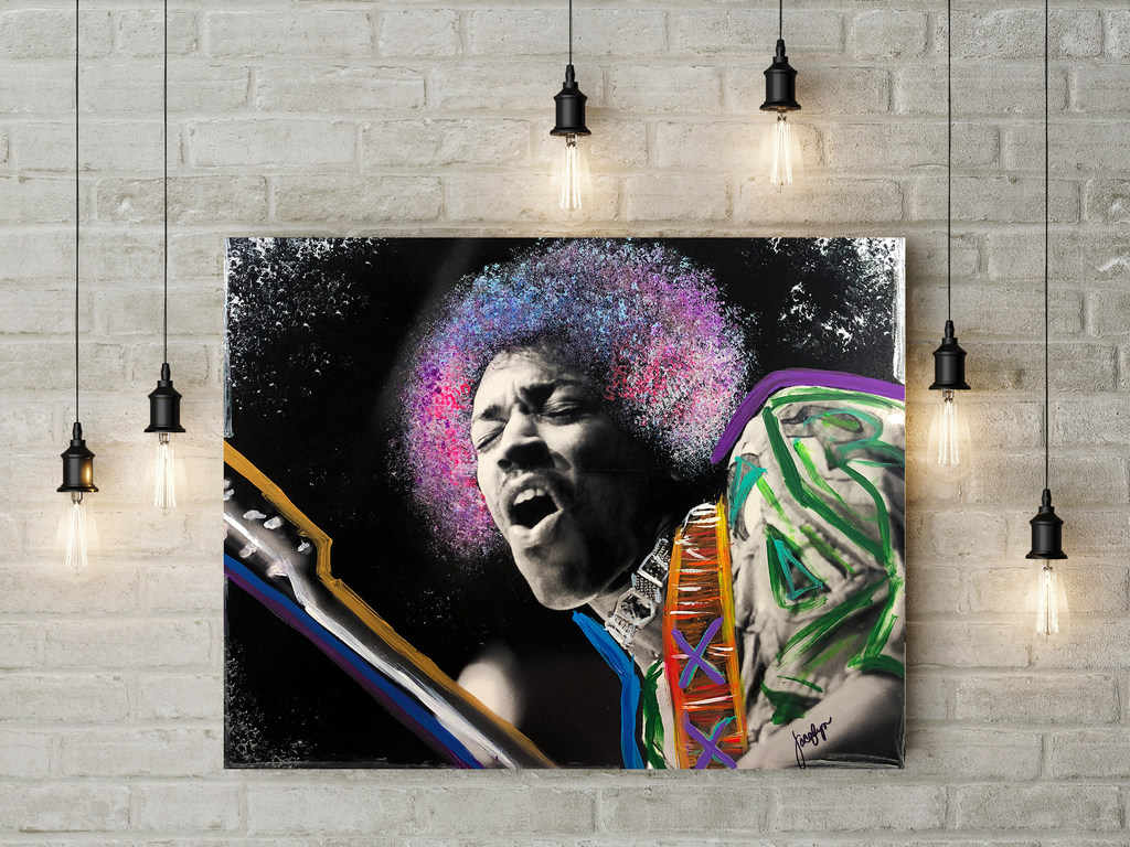 Jammin' Canvas - Global Images Gallery