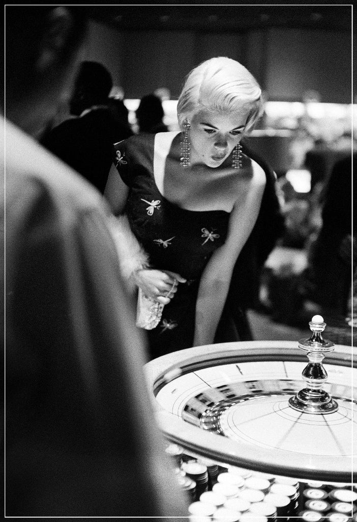 Jayne Mansfield Casino by Frank Worth Photography