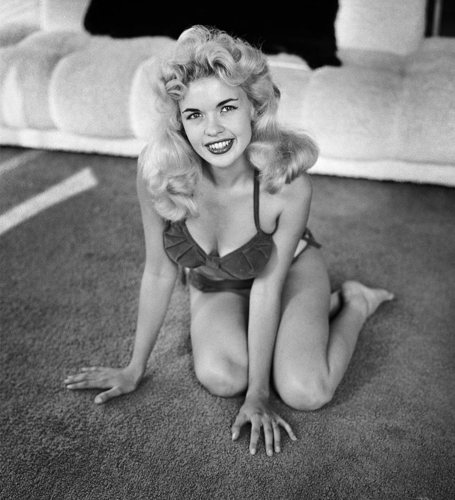 "Frank Worth Collection ""Jayne Mansfield Sitting"" w/coa - Global Images Gallery"