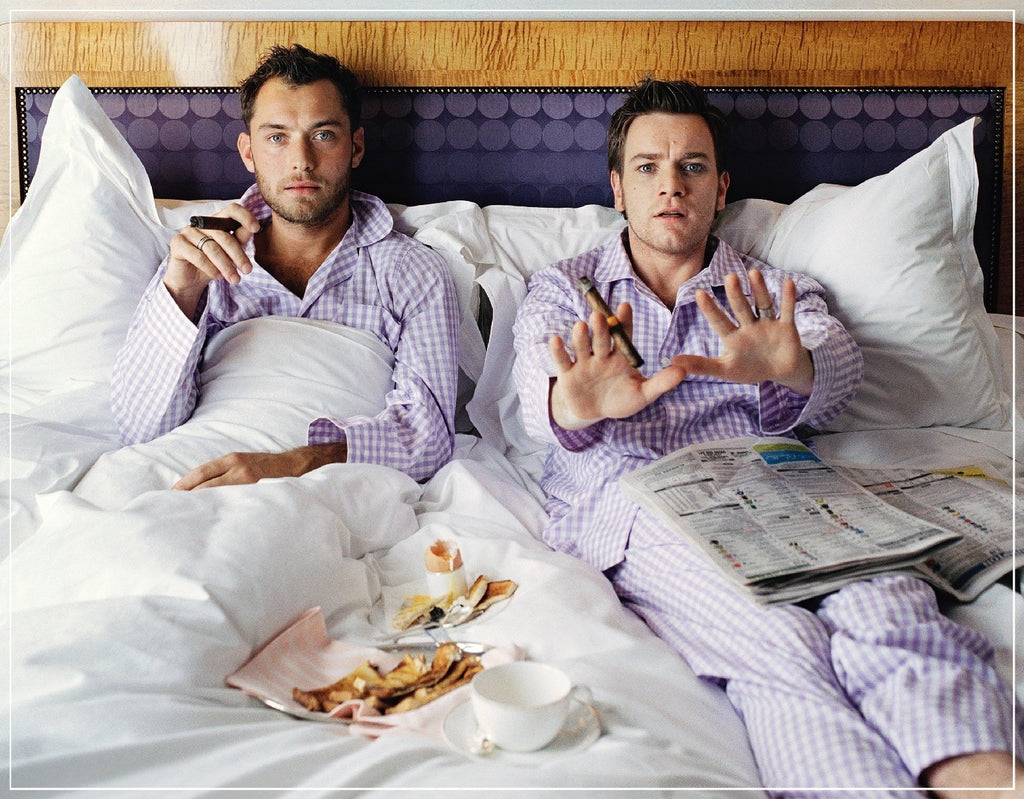 """Jude Law and Ewan McGregor"" by Lorenzo Agius Photography-Fine Art Print-Global Images-24x30-Global Images"