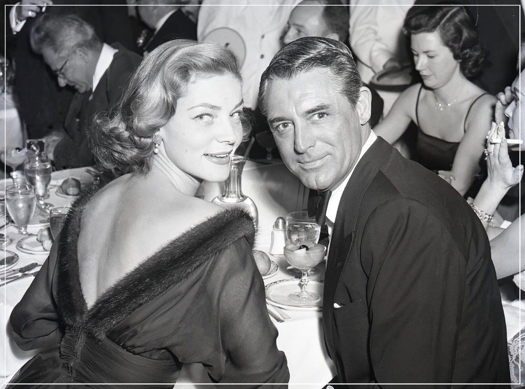 Lauren Bacall And Cary Grant by Frank Worth Photography
