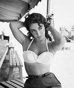 "Frank Worth Collection ""Liz Taylor Classic On Set Of GIANT #4"" w/coa - Global Images Gallery"