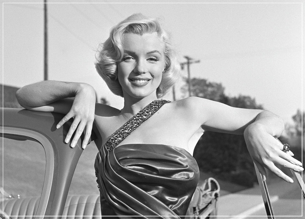 """Marilyn Monroe Millionaire Portrait"" by Frank Worth Photography taken on the set of How to Marry a Millionaire"