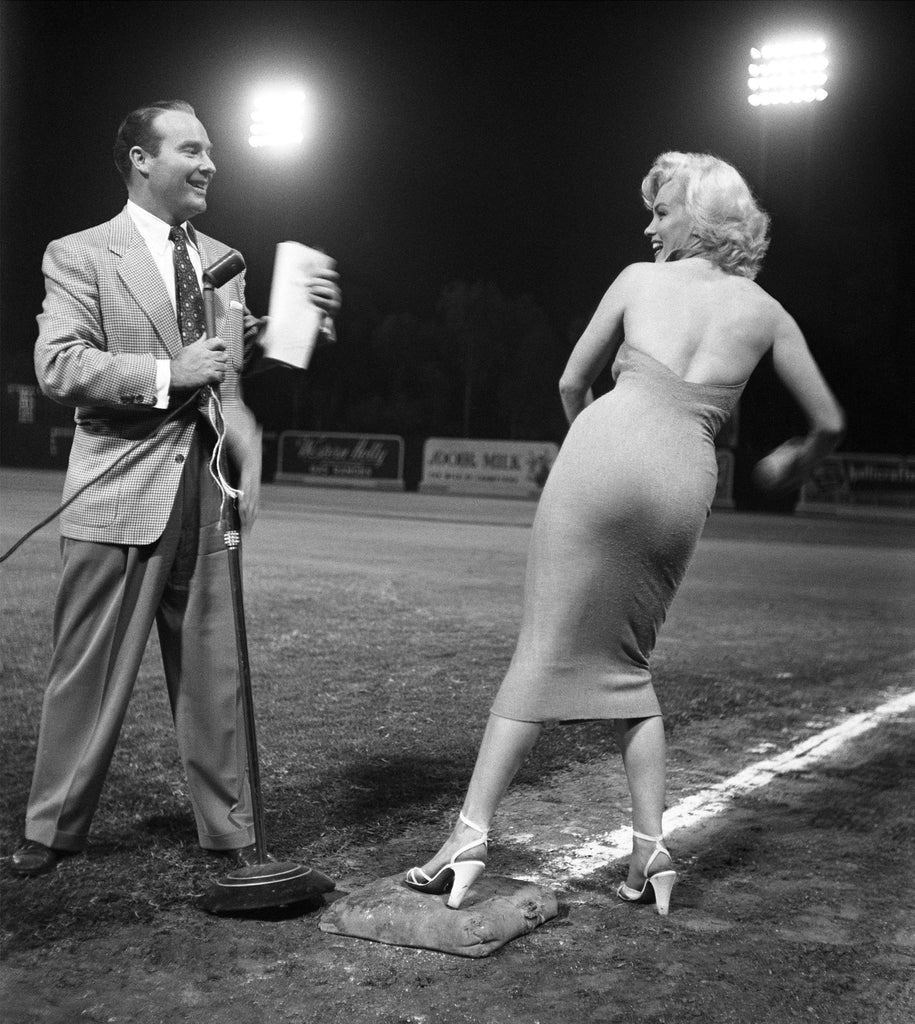 "Frank Worth Collection ""Marilyn Monroe On Baseball Field"" w/coa - Global Images Gallery"