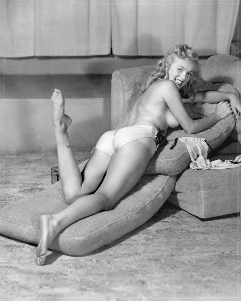 """The Nude Marilyn"" by Earl Moran Photography-Global Images"