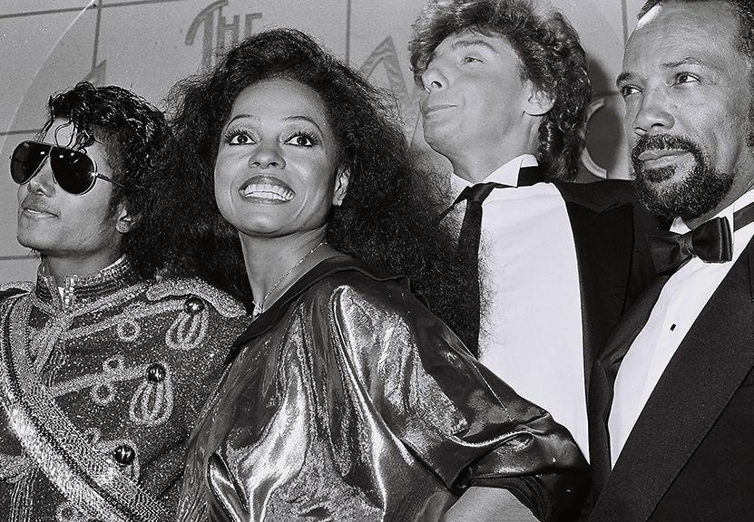 Whitaker Historic Photography: Michael Jackson and Diana Ross - Global Images Gallery