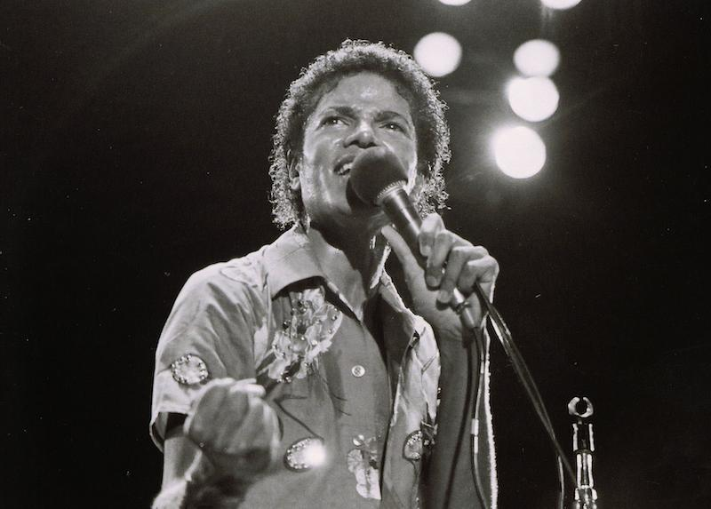 Whitaker Historic Photography: Michael Jackson On Stage Solo 7 - Global Images Gallery