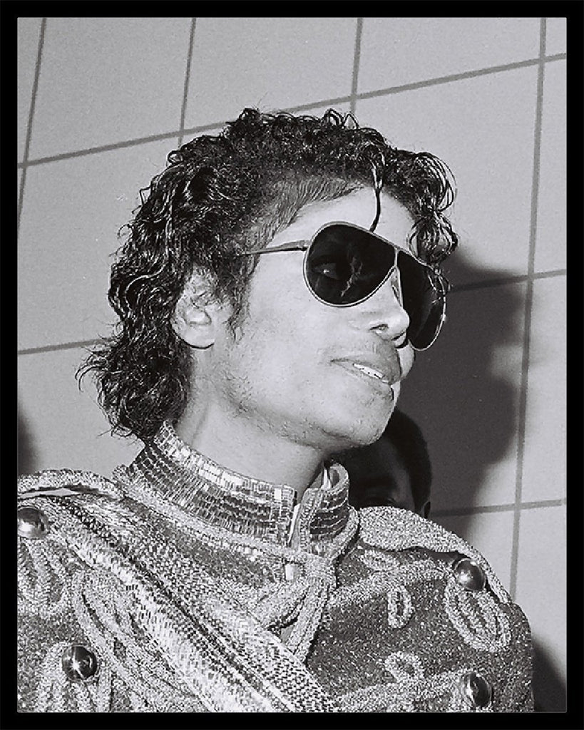 Whitaker Historic Photography: Michael Jackson Portrait-Fine Art Print-Global Images Gallery-16x20-In stock-Global Images