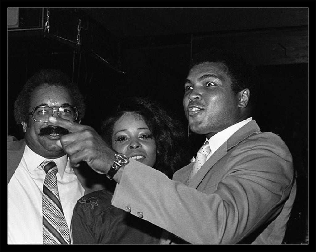 Whitaker Historic Photography: Muhammad Ali And Friends-Fine Art Print-Global Images Gallery-16x20-Global Images