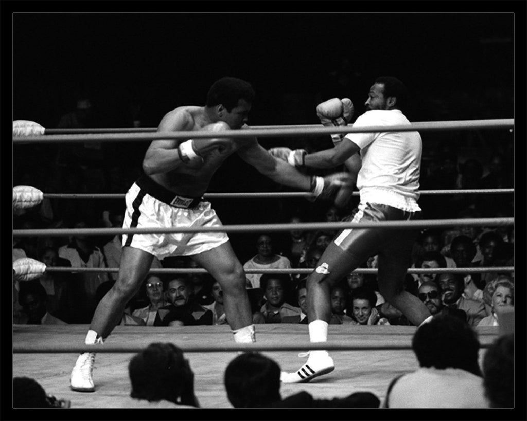 Whitaker Historic Photography: Muhammad Ali and Marvin Gaye, Charity Boxing Match-Fine Art Print-Global Images Gallery-16x20-Global Images