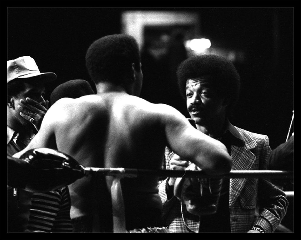 Whitaker Historic Photography: Muhammad Ali In Ring 4, Back Turned-Fine Art Print-Global Images Gallery-16x20-Global Images