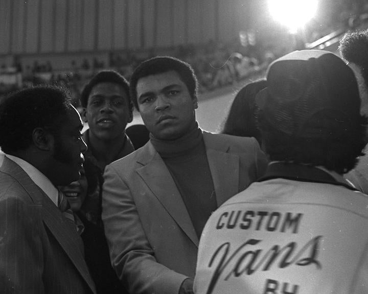 Whitaker Historic Photography: Muhammad Ali In Turtleneck-Fine Art Print-Global Images Gallery-16x20-50-In Stock-Global Images