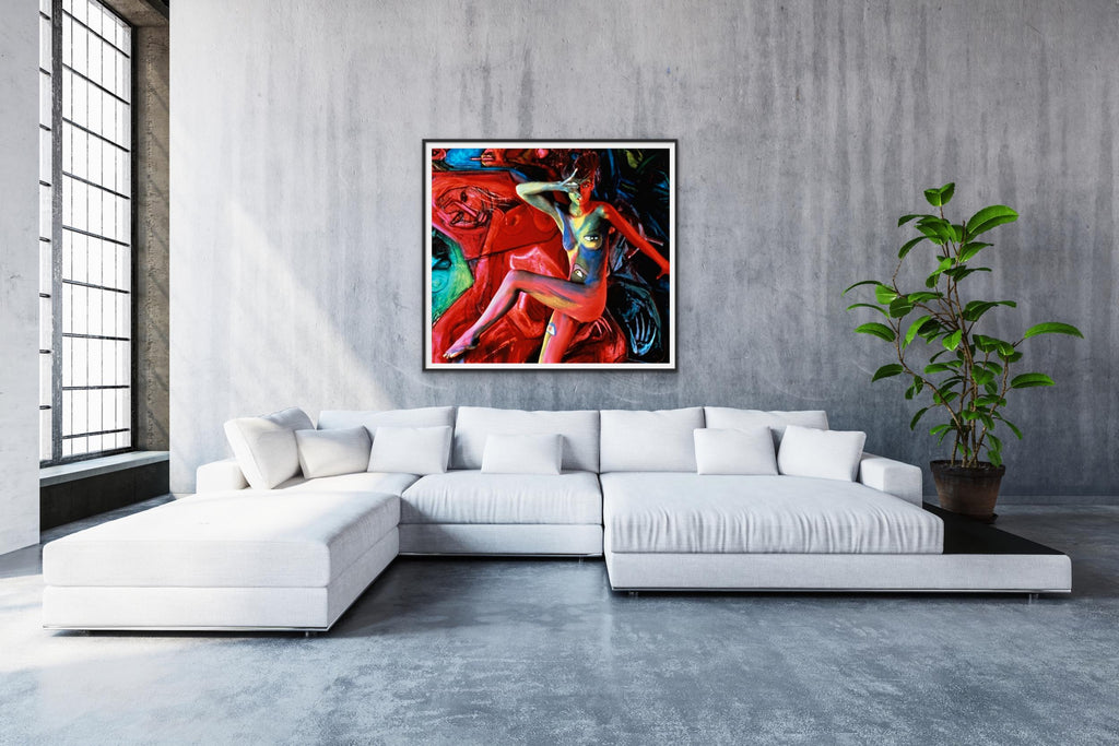 """Pirellis Hot Dates"" 40""x50"" Limited Edition of 10 by Bert Stern-Fine Art Print-Global Images Gallery-40x50 Edition 5 of 10-Global Images"