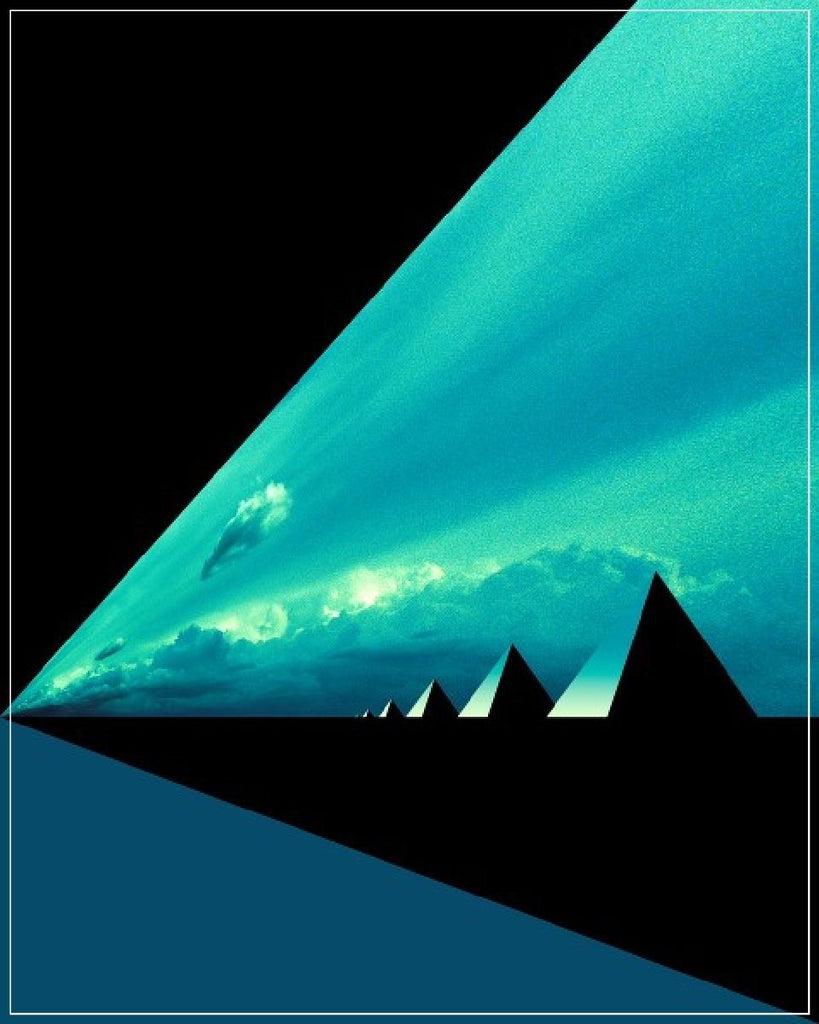 "Daniel Furon Collection ""Pyramids"" w/coa - Global Images Gallery"