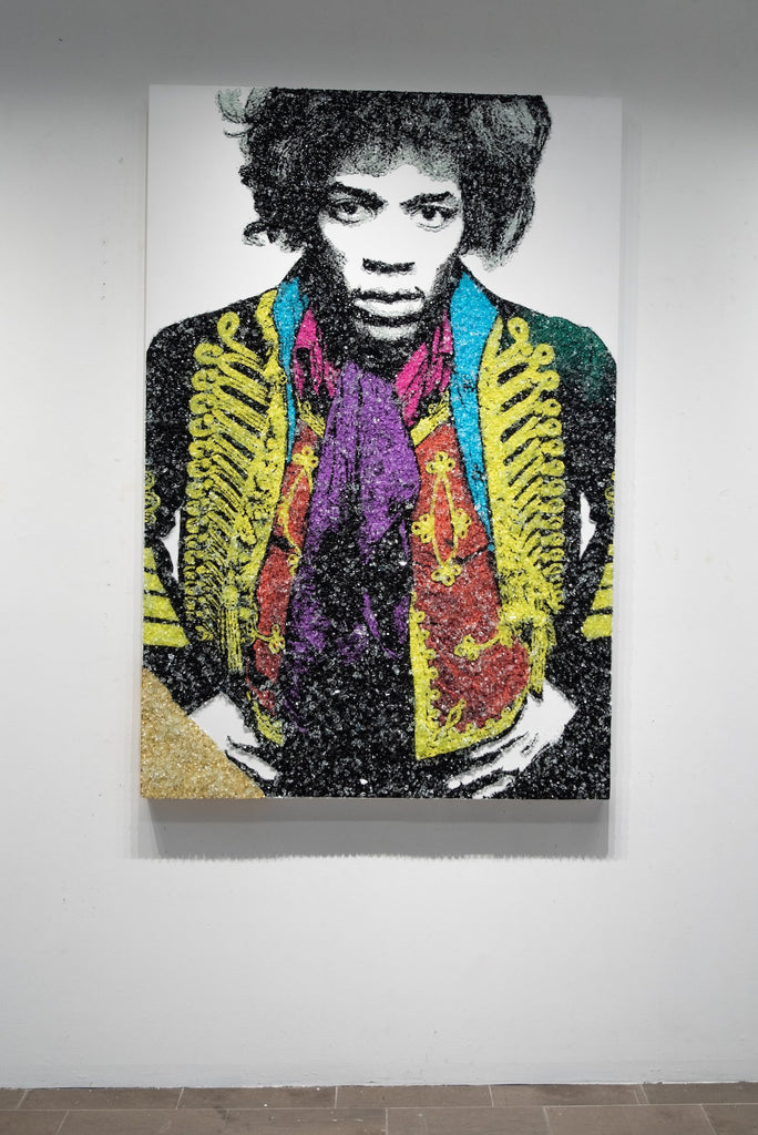 Shattered Jimi-Global Images Gallery-Global Images
