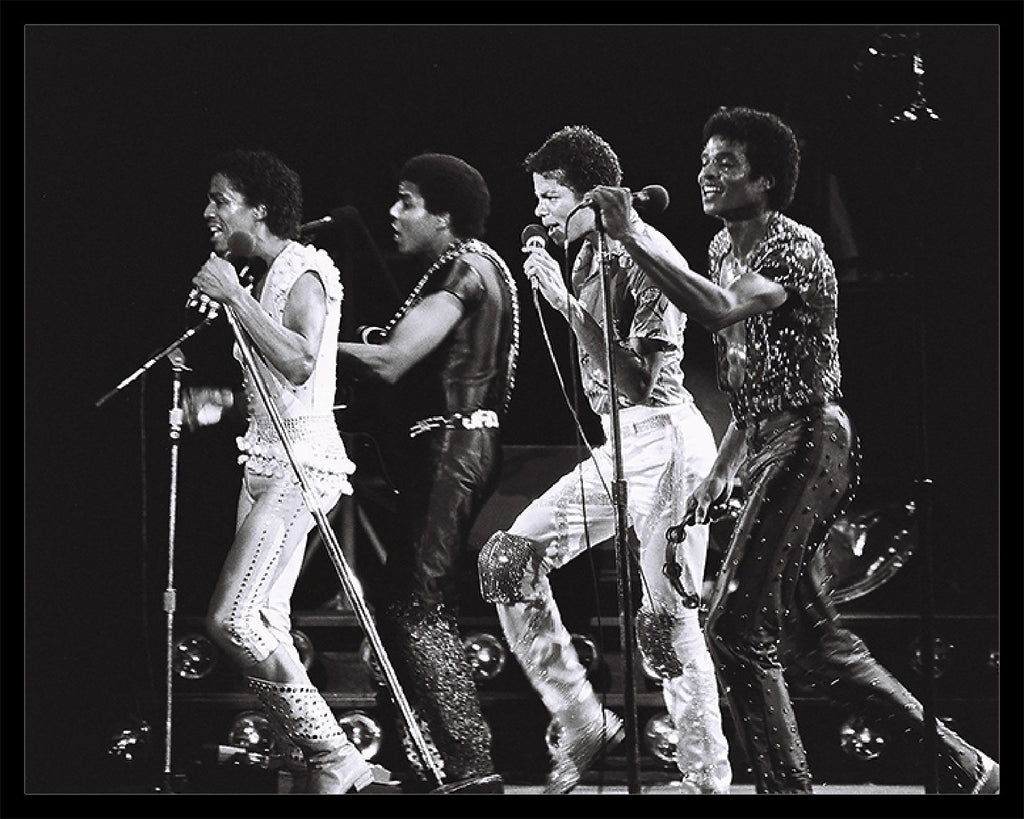 Whitaker Historic Photography: The Jackson 5 On Stage, Close Up 2-Fine Art Print-Global Images Gallery-16x20-In stock-Global Images