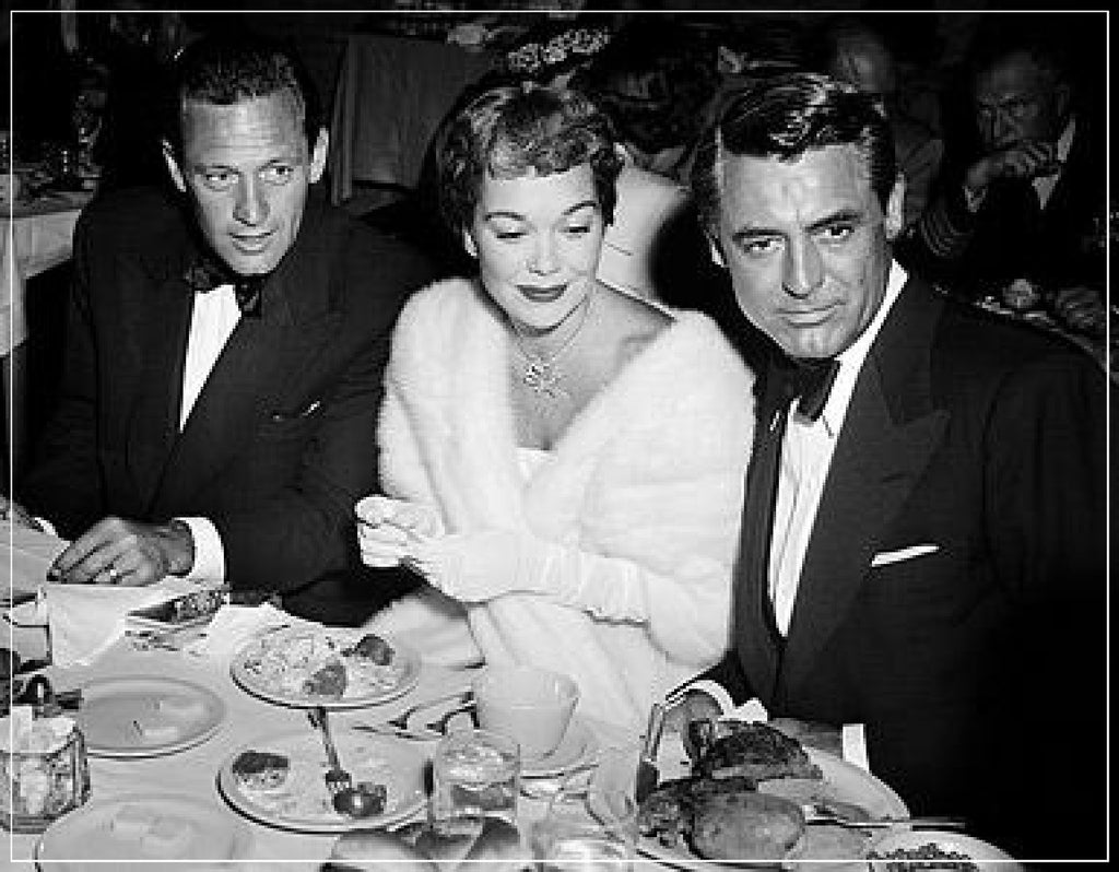 """William Holden, Jany Wyman, and Cary Grant"" by Frank Worth Photography"