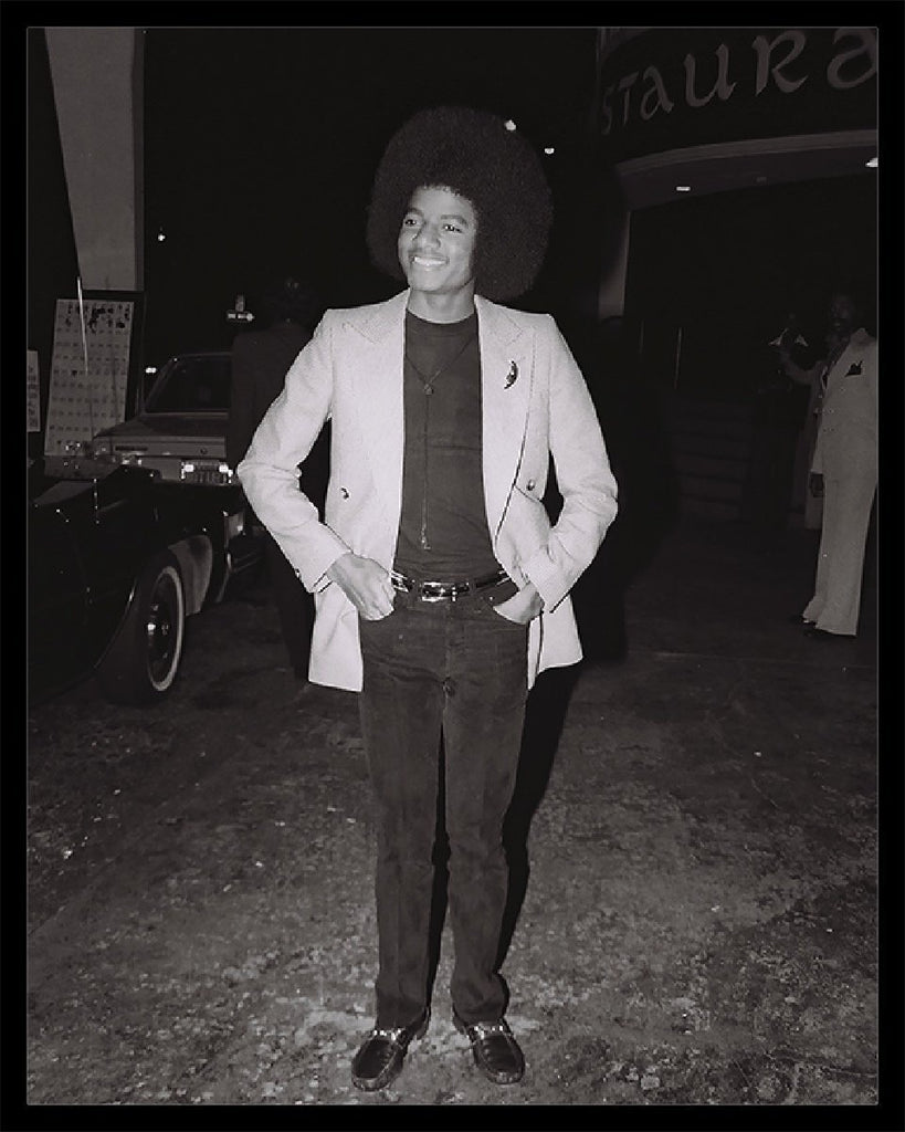 Whitaker Historic Photography: Young Michael Jackson In Blazer-Fine Art Print-Global Images Gallery-16x20-In stock-Global Images