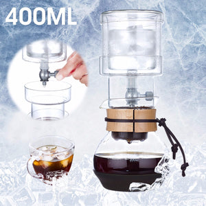 Dutch Cold Drip Coffee Maker Ice Water Drip Glass Brew Machine Serve For 5 Cups