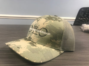 Camo Digitized Trucker Hat