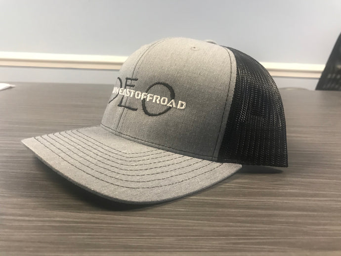 Grey/Black Trucker Hat