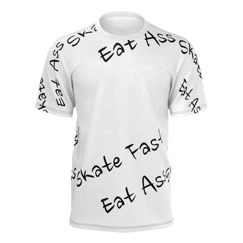 Skate Fast Eat Ass Patterned - True Bullshit