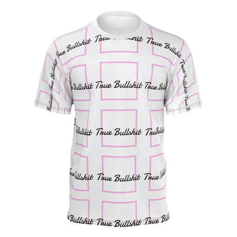 True Bullshit Patterned T-Shirt - True Bullshit