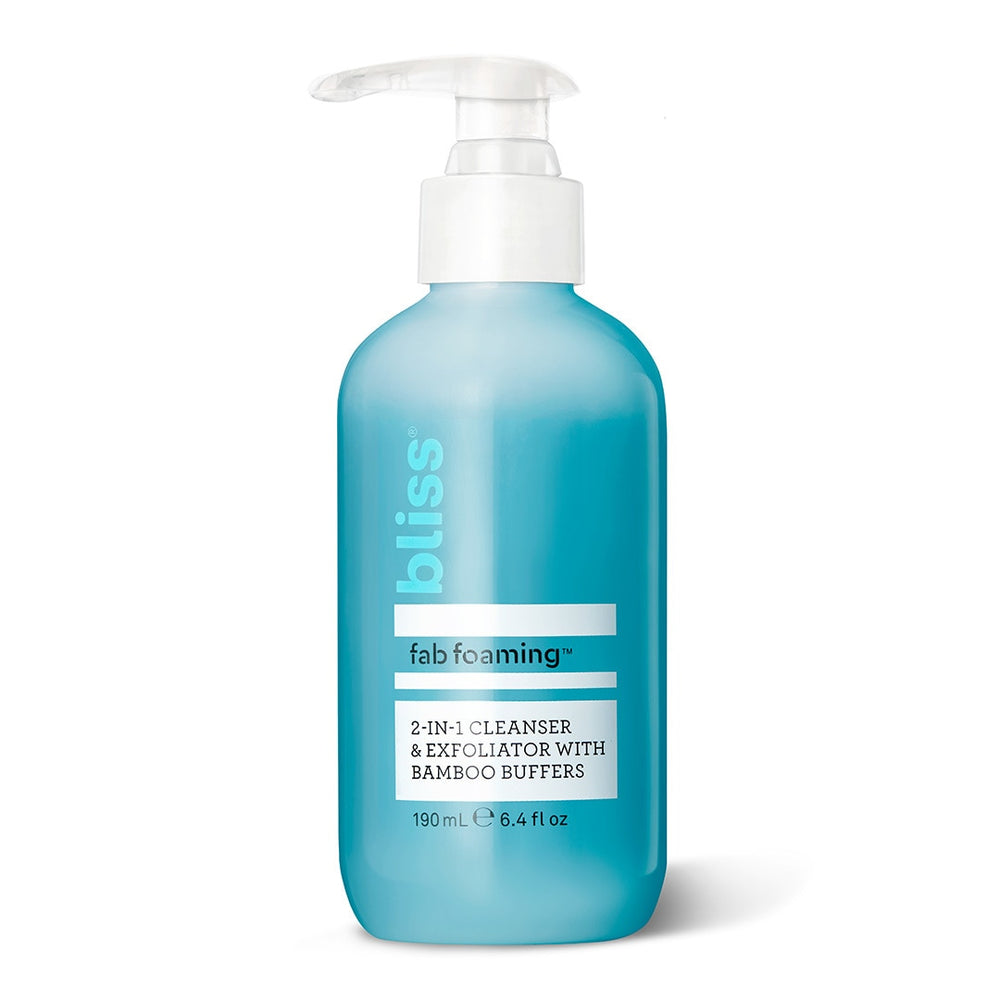 Fab Foaming 2-in-1 Cleanser & Exfoliator