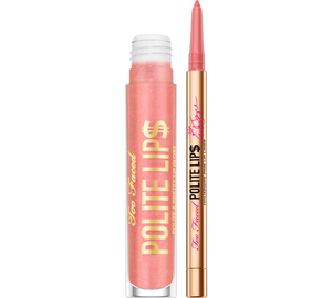 Color and Gloss Lip Kit - Polite