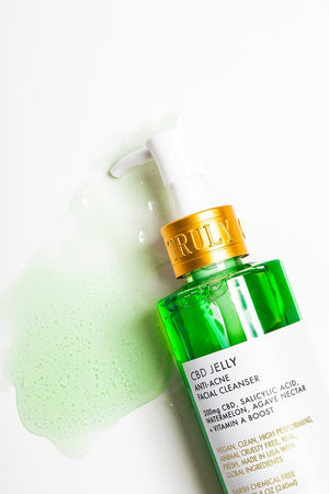 CBD JELLY ANTI-ACNE FACIAL CLEANSE