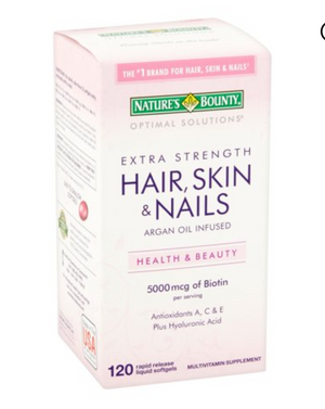 Hair, Skin & Nails 5000mcg - 120 tablets